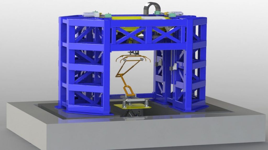 pantograph test bench